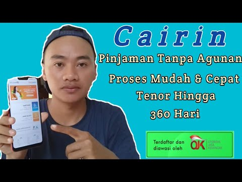 Review Aplikasi CAIRIN Pinjaman Uang Online / Limit Hingga 2juta