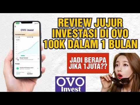 Review Investasi di OVO Invest Selama 1 Bulan, Modal 100K
