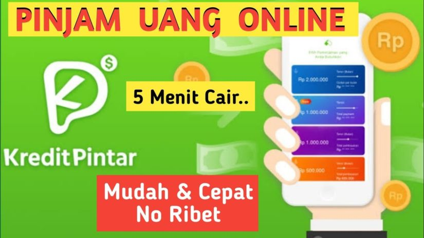 ⭕Cara Gampang Pinjam Uang Online Di Aplikasi Kredit Pintar.. Bayar Bisa Dicicil 🤗