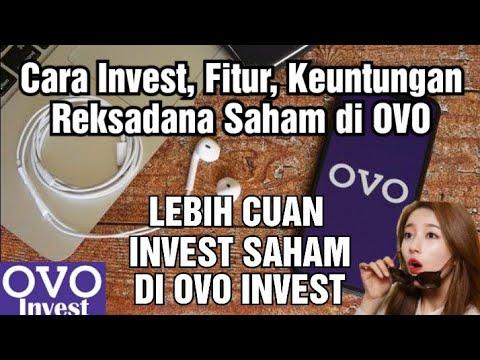 Cara Invest, Analisa, dan Keuntungan Investasi Reksadana Saham di OVO Invest! Lebih Cepat Profit!!