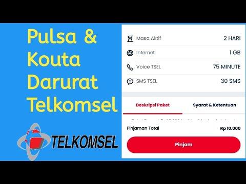 Cara Pinjam Kouta & Pulsa Telkomsel Terbaru || Hutang Kouta Telkomsel