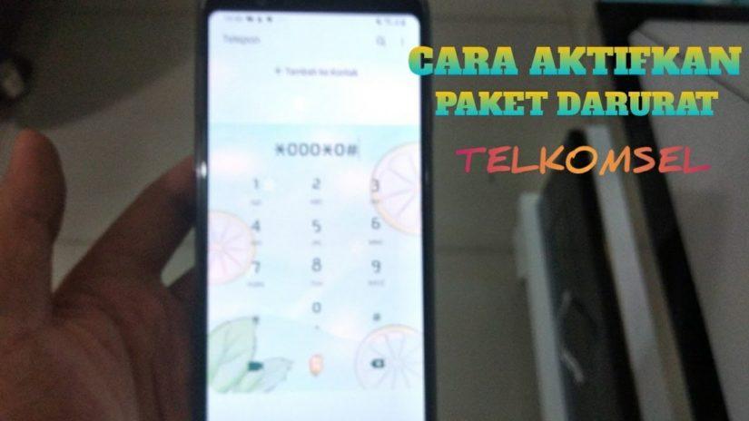 CARA DAFTAR PAKET DARURAT TELKOMSEL 2020 !! utang paket data