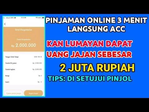 Pinjaman Online Langsung Cair || Pinjol Ilegal Mudah Cair 2021 3 Menit Langsung Acc Syarat Gampang