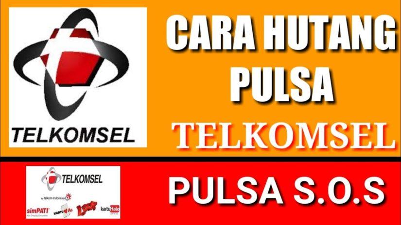 CARA HUTANG PULSA TELKOMSEL_Cara Pinjam Pulsa Telkomsel #hutangpulsa