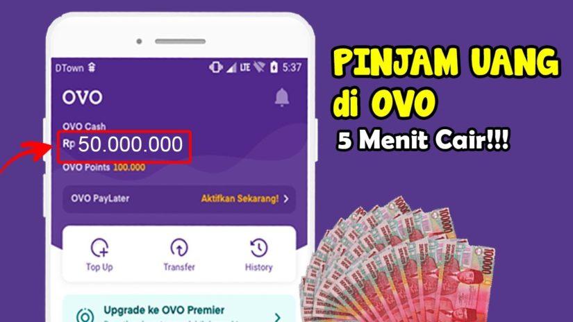 Cara Pinjam Uang di Ovo 5 menit cair ? | pinjaman online tanpa jaminan proses cepat